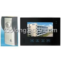 Hotsales Touch Screen Video Door Phone with Memory