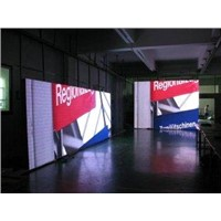 Iron Full Color Indoor Led Video Wall Rental for Theater P10 546 Pixel 1R1G1B IP65