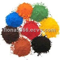 Iron Oxide Pigment (CAS No.: 1309-37-1)red/yellow/green/blue/brown/black powder