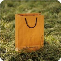 Kraft Paper Bag With Cotton Rope Handle