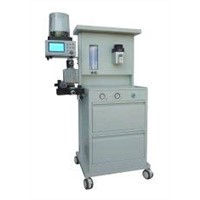 LCD Display Portable Anesthesia Machine with IPPV and SIMV Respiration Mode