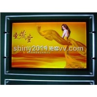 LED Slim Light Box with 8mm Thickness and 110 to 240V Input Voltage