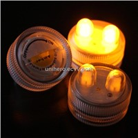 LED Submersible Floral Wedding Tea Candle Light