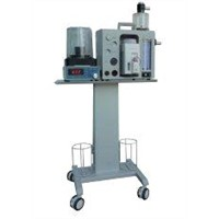 LED Surgical Veterinary Anesthesia Machine with Independent Anesthesia Ventilator