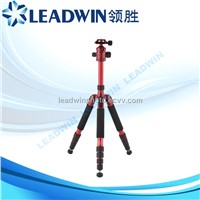 LW-PRT028 LEADWIN red digital professional camera tripod