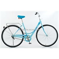 Lady city bike urban bicycle