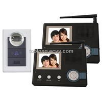 Wireless Digital Video Door Phone with Long Distance Wireless Intercom System