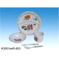 Melamine Dinnerware Kid's set