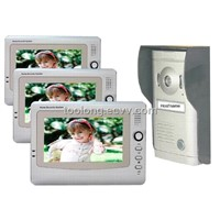 Memory 7inch Video Intercom System Safe Product