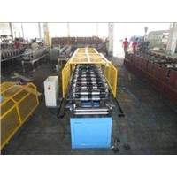 Metal Roof Ridge Cap Roll Forming Machine Used with Colorful Roofing Tile Sheets