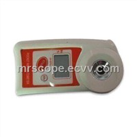 Mini Digital Refractometer with 0.10% Accuracy, Available in Red and White