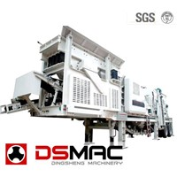 Mobile Jaw Crushing And Screening Plant