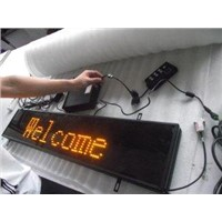Mono Color Led Traffic Signals with 10mm Pixel Pitch for Text Message P10