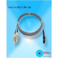 :Multi-mode MTRJ Fiber Optic Patch Cord
