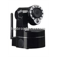 Network Ptz Wireless Security Camera System  support smartphone Control(TB -M009BW)