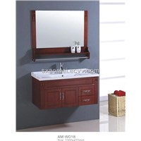 Oak Bathroom Cabinet (AM-W018)
