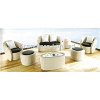 Outdoor PE wicker sofa set  GLL239