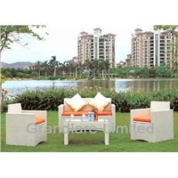 PE Wicker Aluminum sofa set GHY015