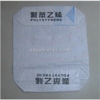 PP block bottom valve bag for 25kg PS packing