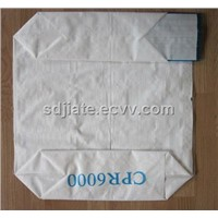 PP block bottom valve bag for 25kg PVC packing