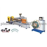 PVC Steel Wire Reinforced Transparent Hose Production Line