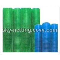 PVC coated /galvanized welded wire mesh (low price )