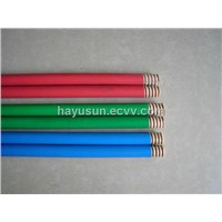PVC covered wooden handle