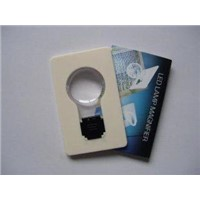 Portable ABS Led Pocket Light, LED credit card lamp, LED flashlights