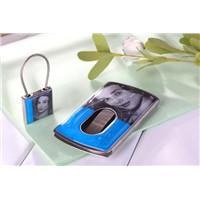 Pushed name card case and key chain set (Model:JWC028-17)