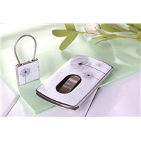 Pushed name card case and key chain set (Model:JWC028-19)
