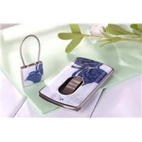 Pushed name card case and key chain set (Model:JWC028-24)