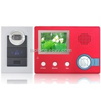 Recordable wireless video door phone  home security for door