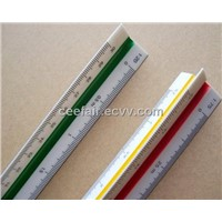 Scale Ruler, Triangular Rulers, Three-edged rule; Three-square scale, Architect Ruler