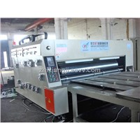 Semi Auto Printing Slotting Machine