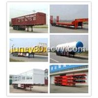 Semi-trailer truck,low bed trailer,cement trailer,container trailer