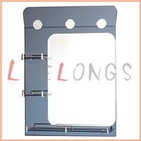Silver Double Bathroom Mirror
