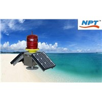 TGZ-120 double solar panels aircraft obstruction warning light