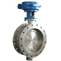 Three Eccentric Stainless Steel Butterfly Valve