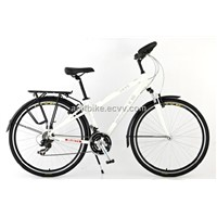 Touring mountain bike trekking bike