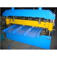 Trapezoid Roof Panel Forming Machine with Chain Transmission for Greenhouses