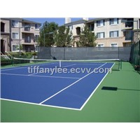 UV Resistant Acrylic Sports Flooring