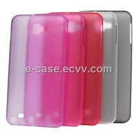 Ultra-Thin TPU  Rubber Case Cover For Samsung Galaxy Note I9220