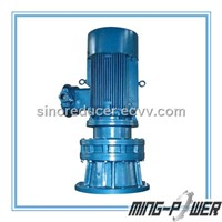 Vertical cycloid pin wheel speed reducer