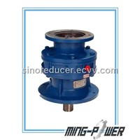Vertical cycloid speed reducer
