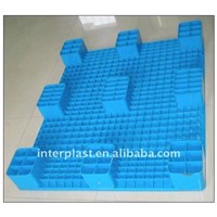 Virgin or Recycled HDPE Plastic Pallet with 9 Big Feet