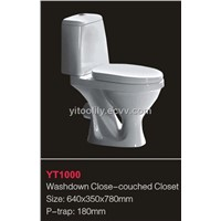 Washdown close-couched closet-YT1000