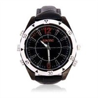 Waterproof spy camera watches with HD hidden camera