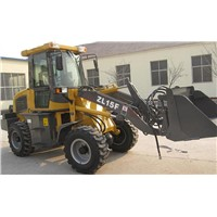 Wheel Loader with Pilot Control, Quick Change System and 4WD Drive Means