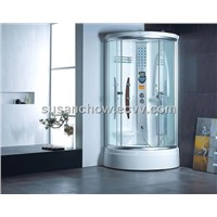 White luxury high quality acrylic steam bathroom(G8008)