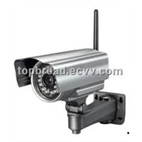 WiFi Mjpeg Day Night IP Camera Waterproof CCTV Camera with audio out Alarm Detect (TB-M006BW)